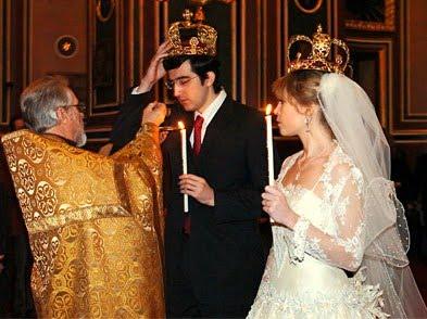 Οἱ συμβολισμοί στό Μυστήριο τοῦ Γάμου