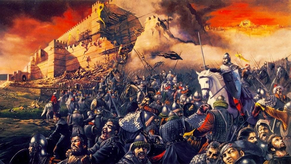 Η ΚΩΝΣΤΑΝΤΙΝΟΥΠΟΛΗ ΔΙΑΧΡΟΝΙΚΑ ΚΑΙ Η ΑΛΩΣΗ ΤΗΣ ΤΟ 1453