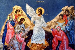 Ἀναστάσεως ἡμέρα λαμπρυνθῶμεν λαοί, Πάσχα Κυρίου Πάσχα