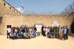 Φωτογραφίες: Προσκυνηματική εκδρομή της Νεότητας της Ενωμένης Ρωμηοσύνης στην Κύπρο