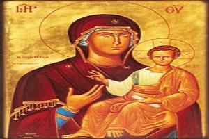 Εικόνα Παναγίας Ρομβιάτισσας - ΒΑΤΟΣ ΑΓΡΙΝΙΟΥ