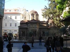 Ιερά Μονή Καπνικαρέας ή Εκκλησία της Παναγίας Καπνικαρέας