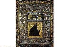Εικόνα Παναγίας Αγίου Όρους 'ΜΥΡΟΒΛΙΤΙΣΣΑ' - Ιερά Μονή Διονυσίου Άγιον Όρος