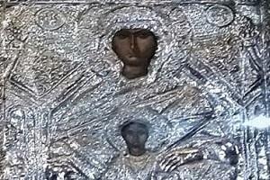 Εικόνα Παναγίας Χρυσολεόντισσας - Αίγινα