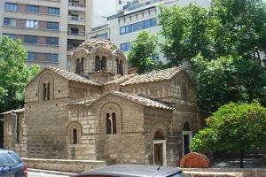 Ιερός Ναός Αγίων Θεοδώρων - Πλατεία Κλαυθμώνος