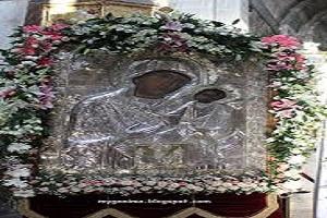 Εικόνα Παναγίας Εκατονταπυλιανής - Πάρος