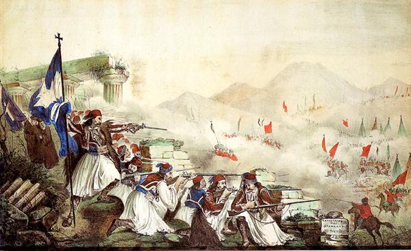 ΟΙ ΕΛΛΗΝΕΣ ΤΟΥ 1821 ΣΥΝΕΧΙΖΑΝ ΤΟ ΒΥΖΑΝΤΙΟ-ΡΩΜΑΝΙΑ