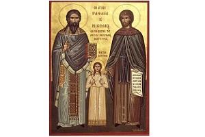 Εγώ πήγα στο Χριστούλη και στην Παναγίτσα ψηλά στόν ουρανό ('Ενα σύγχρονο θαύμα του Αγίου Ραφαήλ)