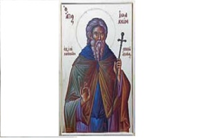 Ο Όσιος καί Θεοφόρος Πατήρ Ημῶν Ιωακείμ , Κτίτωρ Ιεράς Μονής Νοτενών Σκιαδά Αχαΐας (16ος-17ος αἰ. 3η Ἰουλίου)