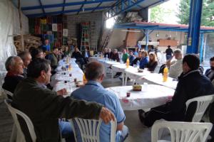 Συνάντηση του Αγροτικού Τομέα στην Κρύα Βρύση Γιαννιτσών