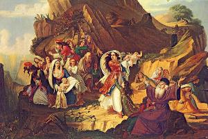 16 Δεκεμβρίου 1803: Οι Σουλιώτισσες χορεύουν τον χορό του Ζαλόγγου και ο ηγούμενος Σαμουήλ ανατινάζει το Κούγκι
