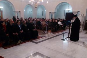 Δελτίο τύπου της εκδήλωσης - ομιλίας του καθηγούμενου της Ιεράς Μονής Λογγοβάρδας Πάρου στο Μαρκόπουλο στις 4-12