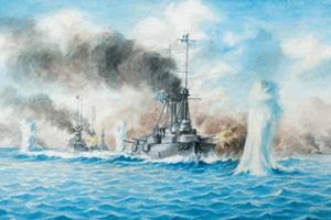 Η ναυμαχία της Λήμνου κατά τον  Ά Βαλκανικό Πόλεμο (5 Ιανουαρίου 1913)