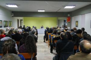 Κοπή βασιλόπιτας και ομιλία με θέμα το δημογραφικό ζήτημα πραγματοποιήθηκε στη Θεσσαλονίκη στις 19-2-2017