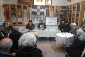 Ομιλία με θέμα «Η γενοκτονία του Ελληνισμού της οθωμανικής αυτοκρατορίας» πραγματοποιήθηκε στην Αθήνα στις 5-3-2017