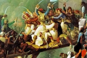 10 Ἀπριλίου 1826 - Ἡ ἡρωϊκή ἔξοδος τοῦ Μεσολογγίου