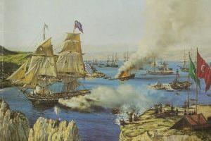 Ἡ ναυτική μοίρα τοῦ Μιαούλη ἀποβιβάζεται στά Ψαρά - 3 Ἰουλίου 1824
