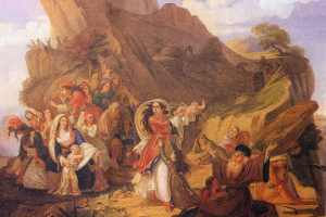 16 Δεκεμβρίου 1803: Οἱ Σουλιώτισσες χορεύουν τόν χορό τοῦ Ζαλόγγου καί ὁ Ἡγούμενος Σαμουήλ ἀνατινάζει τό Κούγκι
