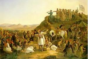 30 Ἰανουαρίου 1827 - Ἕλληνες κατά Ὀθωμανῶν στή μάχη τῆς Καστέλλας