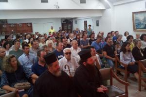 Πνευματική συνάντηση μέ τόν  π. Στέφανο Ἀναγνωστόπουλο,  Ε.ΡΩ. Πατρών, 10 Σεπτεμβρίου 2018