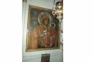 Εικόνα Παναγίας Εισοδίων Θεοτόκου Παγονερίου - Παγονέρι Δράμας