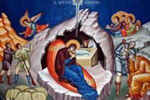 Ἡ θεολογία τῆς εἰκόνας τῆς Γέννησης τοῦ Χριστοῦ