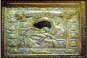"""Εικόνα Παναγίας Αγίου Όρους """"ΑΞΙΟΝ ΕΣΤΙ"""" – Πρωτάτο Αγίου Όρους"""