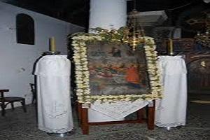 Εικόνα Παναγίας της Λυκούρεσης (Παναγία του Μύρου) - Χαιρώνεια Βοιωτίας