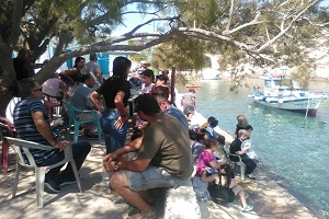 Εκδρομή της Ε.ΡΩ. Καλύμνου στο Νησάκι Νερά