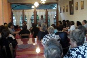 Ομιλία «Διαχρονικές πτυχές της μικρασιατικής καταστροφής» στα πλαίσια της μνήμης της Μικρασιατικής Καταστροφής από τη Εν Ρωμηοσύνη Μυτιλήνης