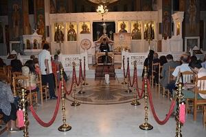 Δελτίο τύπου από την εκδήλωση μας στον ιερό ναό Αγίου Τρύφωνα Παλλήνης με τον Γέροντα Λουκά Φιλοθεΐτη.