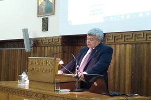 """ΔΕΛΤΙΟ ΤΥΠΟΥ  """" Εκδήλωση – ομιλία για το Μακεδονικό, με θέμα: """"Σκέψεις επί της Συμφωνίας των Πρεσπών"""".  Πάτρα 26 Οκτωβρίου 2019."""
