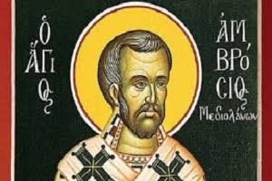 Αγ. Αμβρόσιος Μεδιολάνων: Ο Ασυμβίβαστος Επίσκοπος