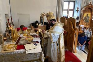 Ιερά Μητρόπολις Πισιδίας Χειροτονία Διακόνου στον Άγιο Αλύπιο Αττάλειας
