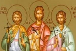 Αγιοι Μάρτυρες Θύρσων, Λεύκιος καὶ Καλλίνικος