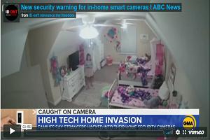 Τρομακτική στιγμή που κάποιος χάκαρε την κάμερα σε υπνοδωμάτιο 8χρονης και της μιλούσε από το μικρόφωνο