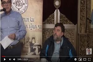 ὁμιλία Αθανασίου Ρακοβαλῆ εἰς ἱερό ναό Ἁγίου Κοσμᾶ Αἰτωλοῦ Ἀμαρουσίου (VIDEO)