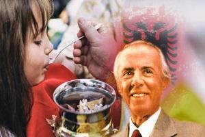 Ὅταν ὁ ἄθεος δικτάτορας τῆς Ἀλβανίας Ἐνβερ Χότζα διέταξε νὰ κοινωνήσουν τὰ παιδιά!