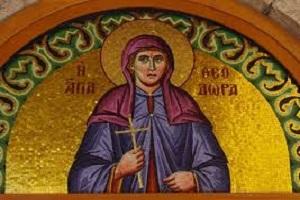 Αγ. Θεοδώρα Θεσσαλονίκης η Μυροβλύτισσα