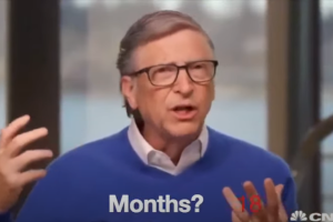 O Bill Gates ζητά κάλυψη από νομική ευθύνη για παρενέργειες που θα προκαλέσει το εμβόλιο για τον κορωνοϊό (video)
