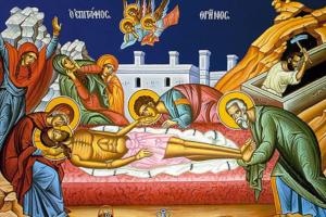 Εἶναι Ἄνοιξη. Ὁ Χριστός μας κηδεύεται μονάχος