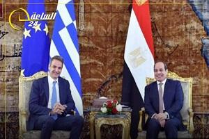 Σίσι και Μητσοτάκης συζήτησαν τις εξελίξεις στη Λιβύη