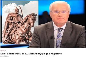 Αλβανός πολιτικός: Να πούμε την αλήθεια- Ο Σκεντέρμπεης υπερασπίστηκε τον Σταυρό όχι την Αλβανία!
