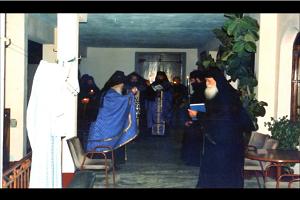 Οι πατέρες Δανιήλ και Ακάκιος των Δανιηλαίων - «Σε τον αναβαλλόμενον το φως » σε ήχο πλ.α'