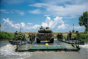 Έβρος: Διάβαση Ευκαιρίας Υδάτινου Κωλύματος -Ενεργητική Άμυνα (ΦΩΤΟ)