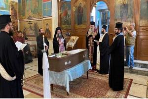Εκοιμήθη αιφνιδίως ο Αγιοταφίτης Αρχιμανδρίτης Μαρτύριος