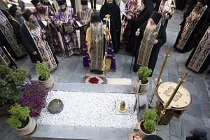 ΒΑΤΟΠΑΙΔΙ: Ετήσιο μνημόσυνο για τον γέροντα Ιωσήφ
