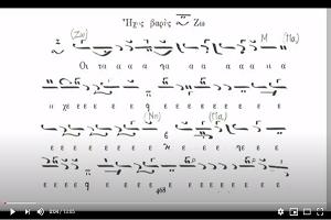 Χερουβικό Χαραλάμπους Παπανικολάου ήχος Βαρύς