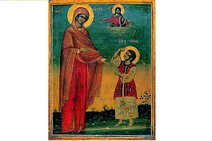 Ο βίος των Αγίων Κηρύκου και Ιουλίττης - Οι Άγιοι γίνονται παιδιά