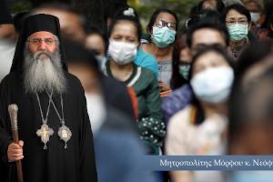 Μόρφου Νεόφυτος: «Όταν ξανάρθει (ο κορωνοϊός) να ξέρουμε ότι οι εκκλησίες της Μόρφου θα είναι ανοιχτές. Κι ας πάει ο Δεσπότης σας φυλακή. Πρέπει του»